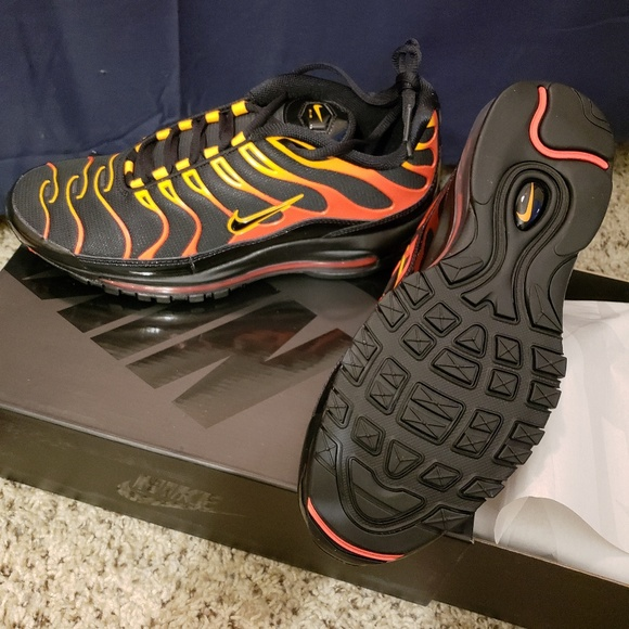 huge selection of aa5a7 21cee Nike Air Max 97 Plus-Black Engine